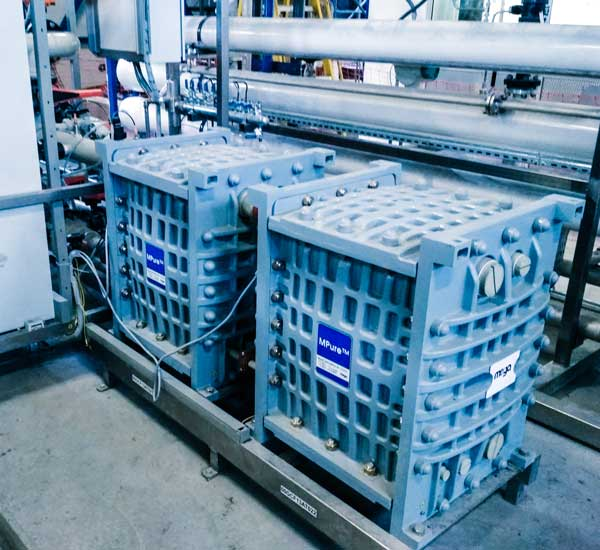 Modernization of process water treatment plant using high purity water